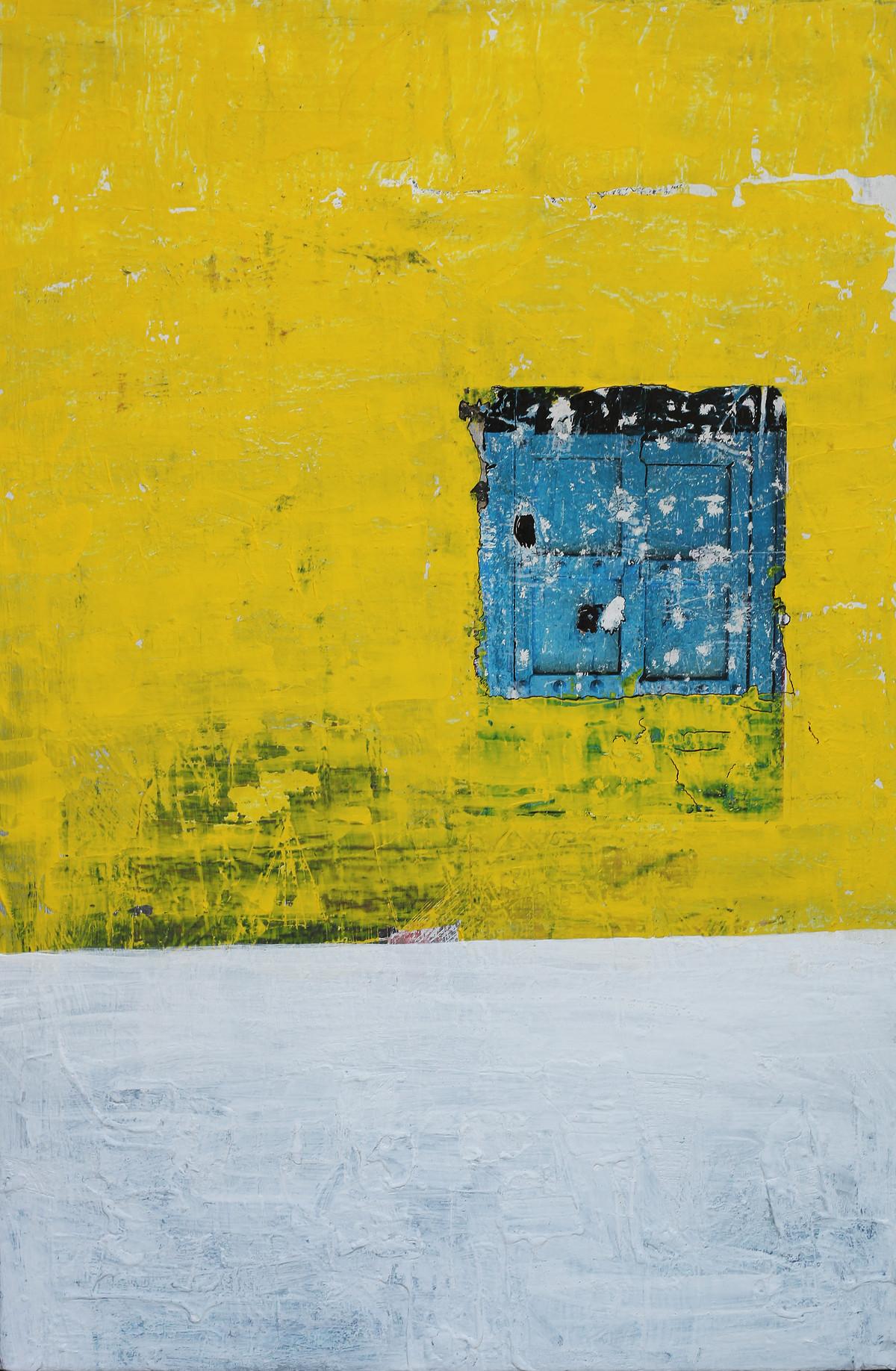 old wall story by artist Aditya Sagar – Abstract, Painting | Mojarto ...