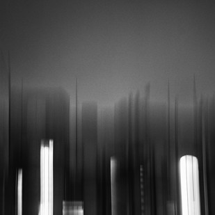 Windows 1 by Subhajit Dutta, Abstract Photography, Digital Print on Paper, Gray color