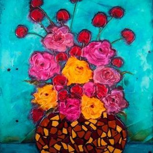 Love and Roses Digital Print by Quin, Marabeth,Decorative