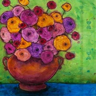 Bursting Blooms Digital Print by Quin, Marabeth,Decorative