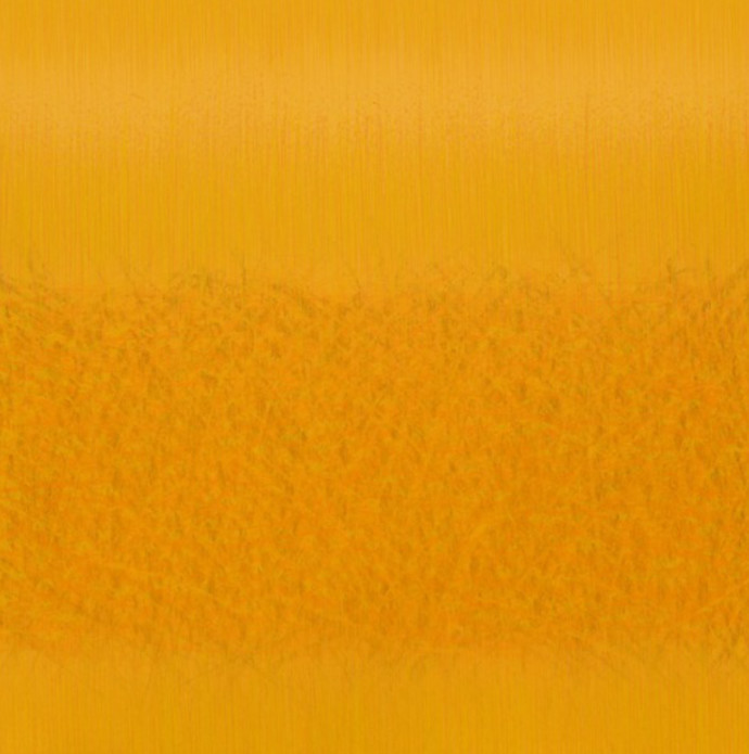 Videh-3 by SATISH BHAISARE, Abstract Painting, Acrylic on Canvas, Orange color