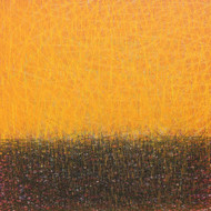 Untitled-4 by SATISH BHAISARE, Abstract Painting, Acrylic on Canvas, Orange color