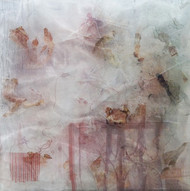 Illusion Series C1 by Sachin Deo, Abstract Textile, Mixed Media, Brown color