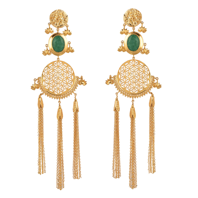 Dangler by Ambar Pariddi Sahai , Art Jewellery Earring