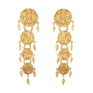 Dangler by Ambar Pariddi Sahai , Art Jewellery Earring