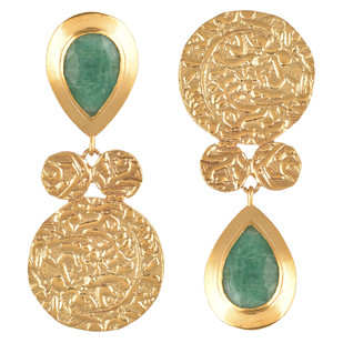 Mis-match earring by Ambar Pariddi Sahai , Art Jewellery Earring