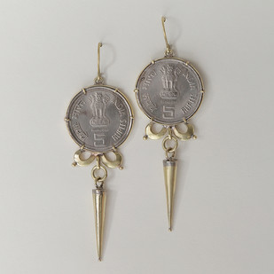 Tara by Chicory Chai, Contemporary Earring