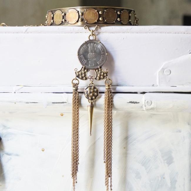Samyukta by Chicory Chai, Art Jewellery Necklace