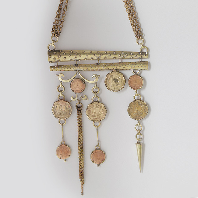 Indira by Chicory Chai, Art Jewellery Necklace