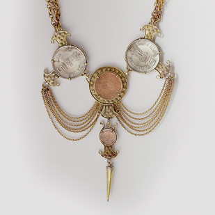 Padmavati by Chicory Chai, Art Jewellery Necklace