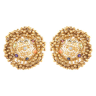 Studs by Ambar Pariddi Sahai , Contemporary Earring