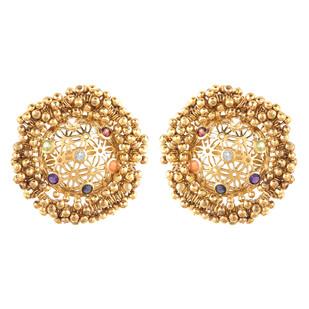 Studs by Ambar Pariddi Sahai , Contemporary Earring
