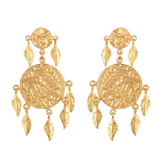Short earring by Ambar Pariddi Sahai , Art Jewellery Earring