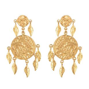 Short earring by Ambar Pariddi Sahai , Art Jewellery Earring
