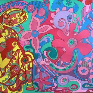 The Womb again Digital Print by Amrit Khurana,Expressionism