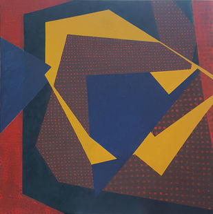 Untitled III Digital Print by Nivedita Pande,Geometrical