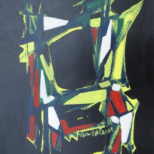 the dancing chair. Digital Print by Soumya Chakraborty,Abstract