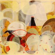 20617  sunil yadav  untitled  acrylic on canvas  27.75 x 25 inch  l. r. in hindi  2014