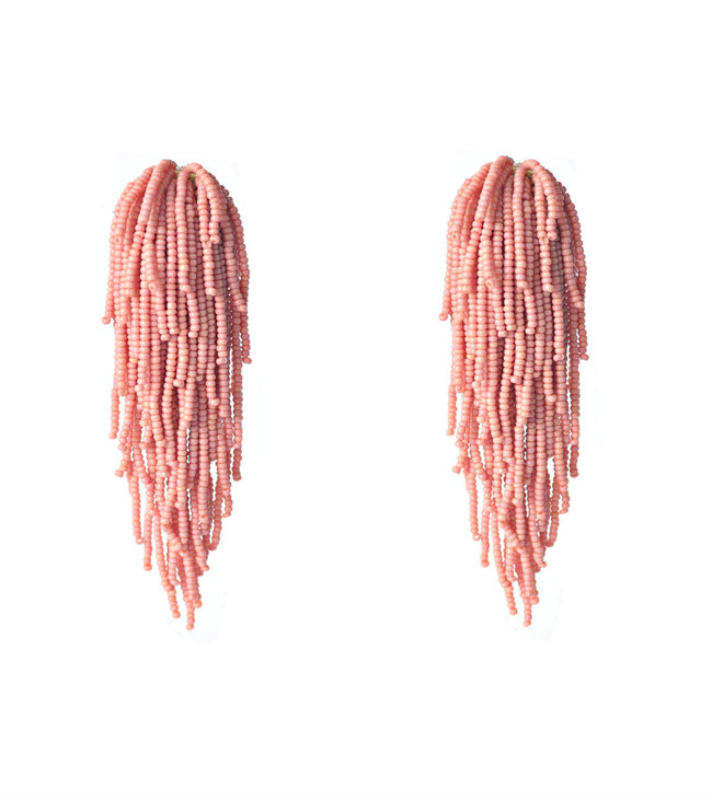 Tara Earrings in Vintage Pink by BEGADA, Art Jewellery Earring
