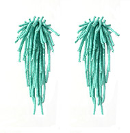 Tara Earrings in Aqua by BEGADA, Earring