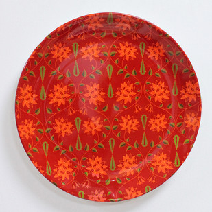 "KOLOROBIA BABUR INSPIRED HOME DÉCOR WALL PLATE 10"" Wall Decor By Kolorobia"