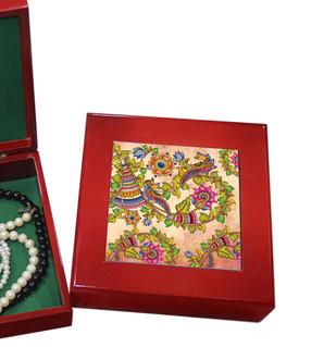 Kalamkari Finesse Keepsake Box Jewellery Boxes By Kolorobia