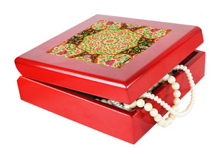 Mughal Blooms Keepsake Box Jewellery Boxes By Kolorobia