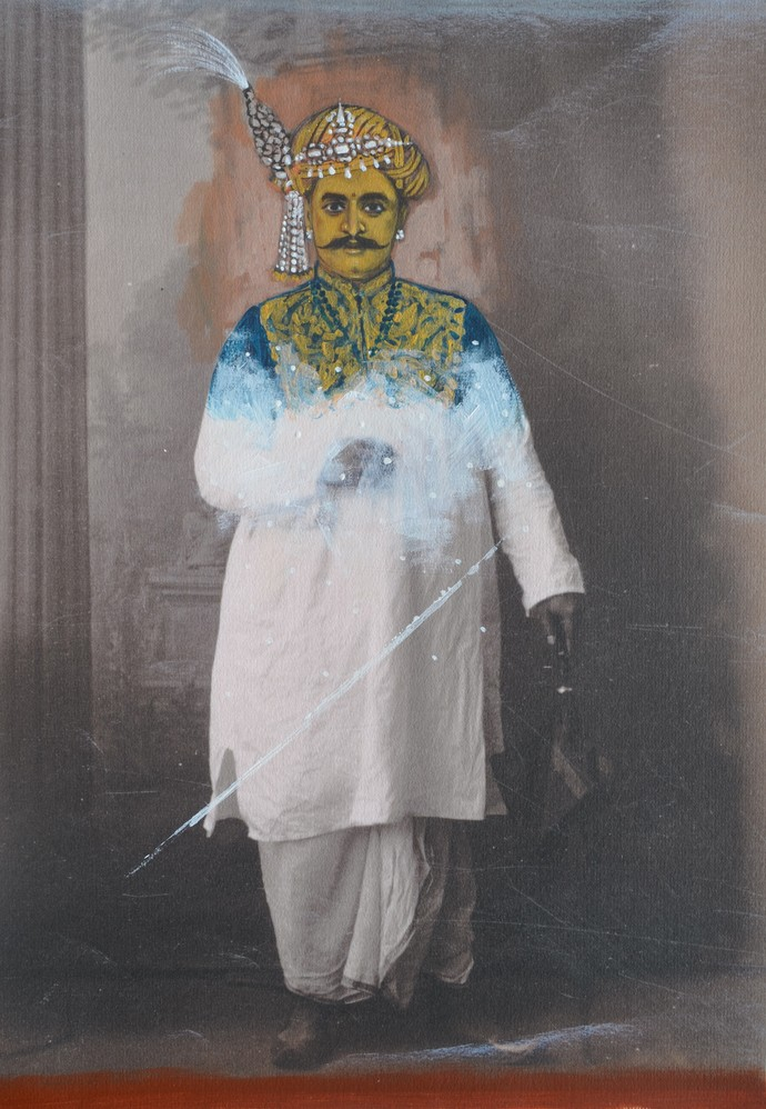 Project Series by Masuram Ravikanth, Image Photography, Acrylic, Photograph Printed on Archival paper, Gray color
