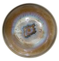 Ceramic Plates by Arun Mukhuty, Art Deco Sculpture | 3D, Ceramic, Brown color