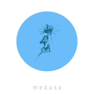 medusa Digital Print by lynrinth,Digital