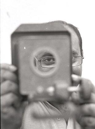 Portrait Series by Vivek Yeralkar, Image Photography, Digital Print on Enhanced Matt, Gray color