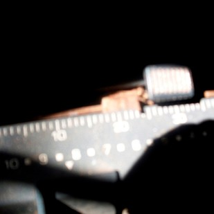 Typewriter Series-2 by Pragati, Image Photography, Digital Print on Enhanced Matt, Black color