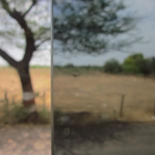 Split Vision by Mahesh Mhabdi, Image Photography, Digital Print on Enhanced Matt, Brown color