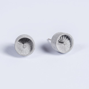 Micro Concrete Earrings Earring By Material Immaterial