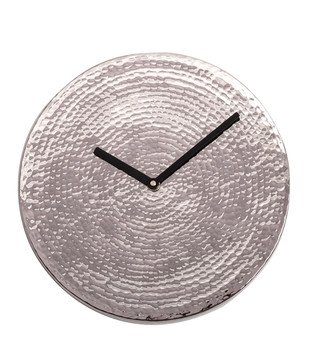 Wall O Clock - Chrome Clock By Studio Saswata