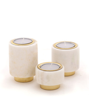 Tealight Pillars Candle Stand By Studio Saswata