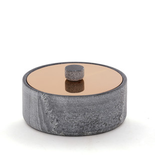 Yin Nut Bowl Decorative Container By Studio Saswata