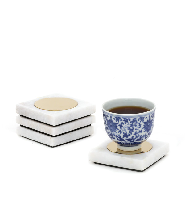 Yang Coasters Coaster Set By Studio Saswata
