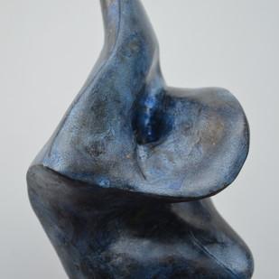 Grace by Gurmeet Goldie, Art Deco Sculpture | 3D, Metal, Gray color