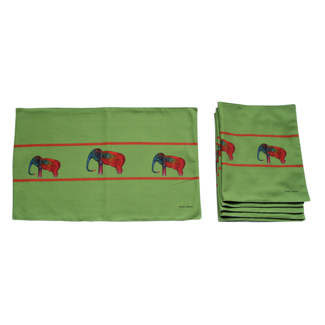 Babu Xavier Table Mats Table Linen Set By indian-colours
