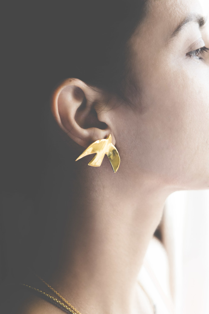 FREEDOM EARRINGS by MYO , Art Jewellery Earring
