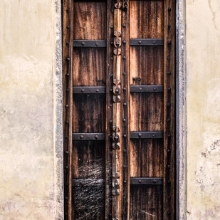 Rajasthani Door Digital Print by Uday Tadphale,Image