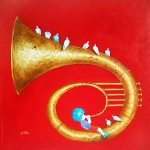 Memories of the childhood xi Digital Print by shiv kumar soni,Expressionism