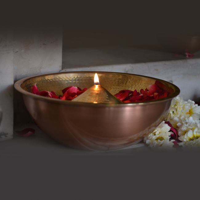 Lift top lau diya br oil lamp l
