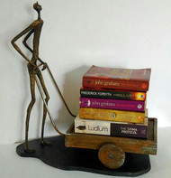 Figure Cart Book Holder Furniture By THE ART SPA