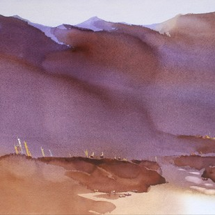 We cannot take shortcut,dear Paduan by Prashant Prabhu, Impressionism Painting, Watercolor on Paper, Brown color