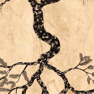 Rooted by Sumit Mehndiratta, Impressionism Digital Art, Digital Print on Canvas,