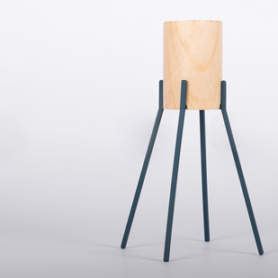 Fyre - Large2 [Deep Blue] Candle Stand By Rayden Design Studio