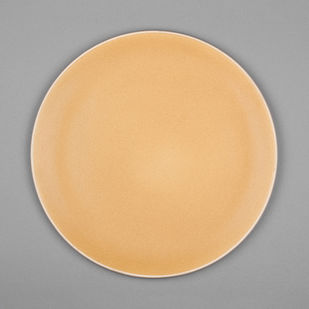 Basik Plate large [Yellow] x 2 Kitchen Ware By Rayden Design Studio