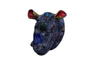 Remy by Christina Banerjee, Art Deco Sculpture | 3D, Ceramic, White color